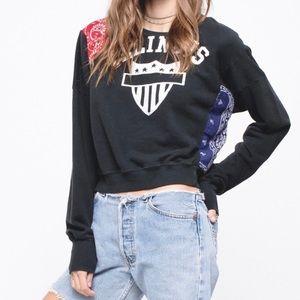 NWOT Daydreamer Illinois Pullover Sweatshirt